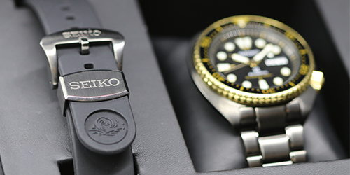 The Seiko automatic dive watch up close and personal