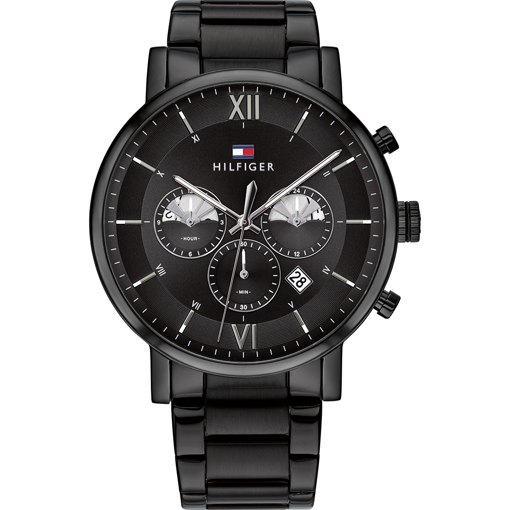 Are Tommy Hilfiger Watches Good Quality: black mens watch