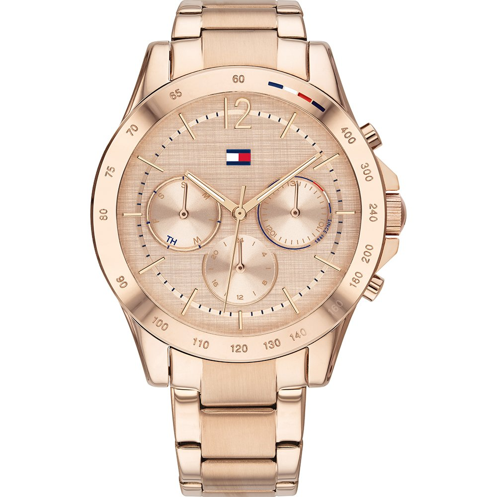 are tommy hilfiger watches good: rose gold womens watch