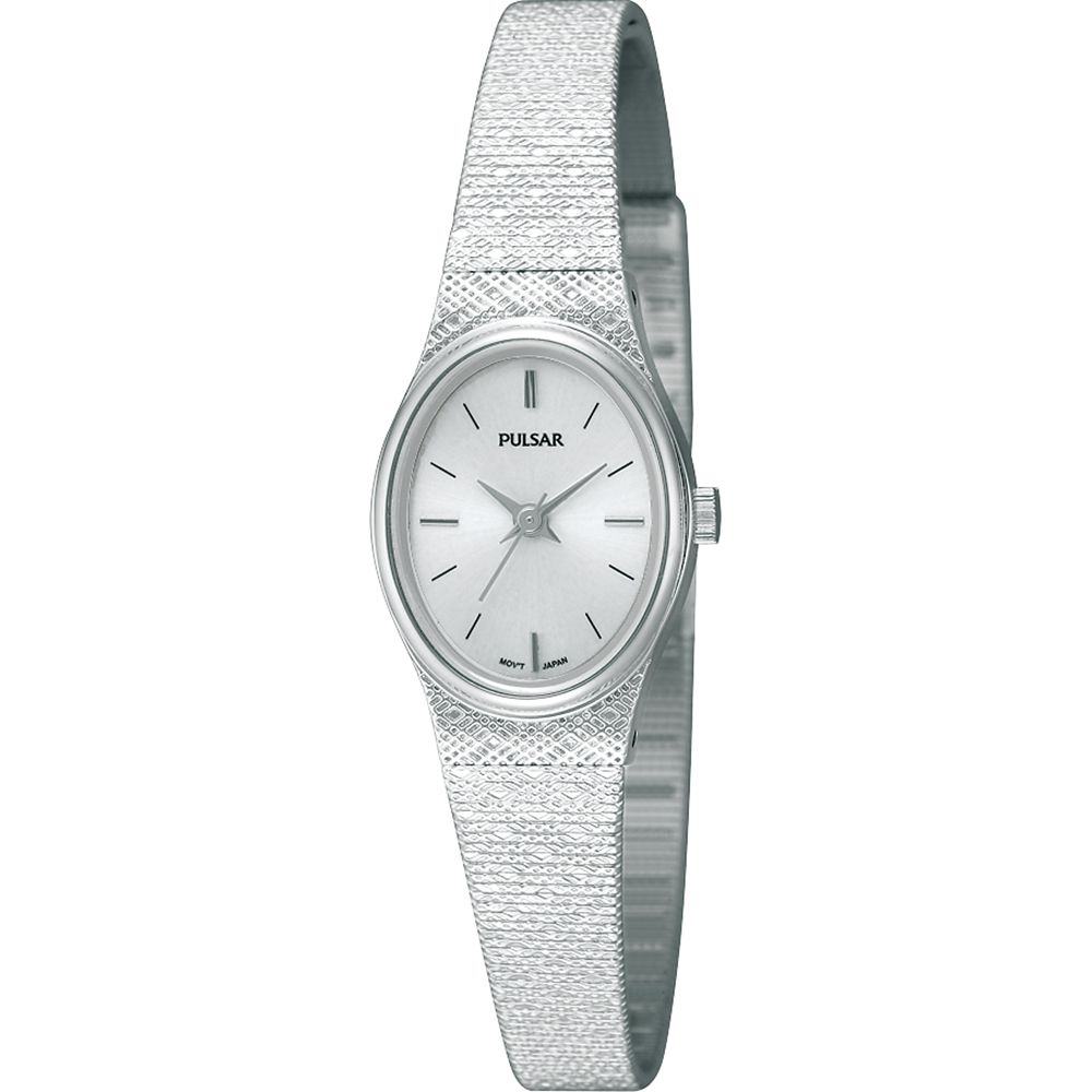 are pulsar watches good: stainless steel womens watch