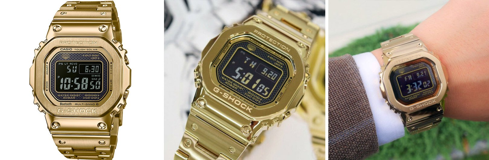 GMWB5000GD-9D from the best G-Shock square watches