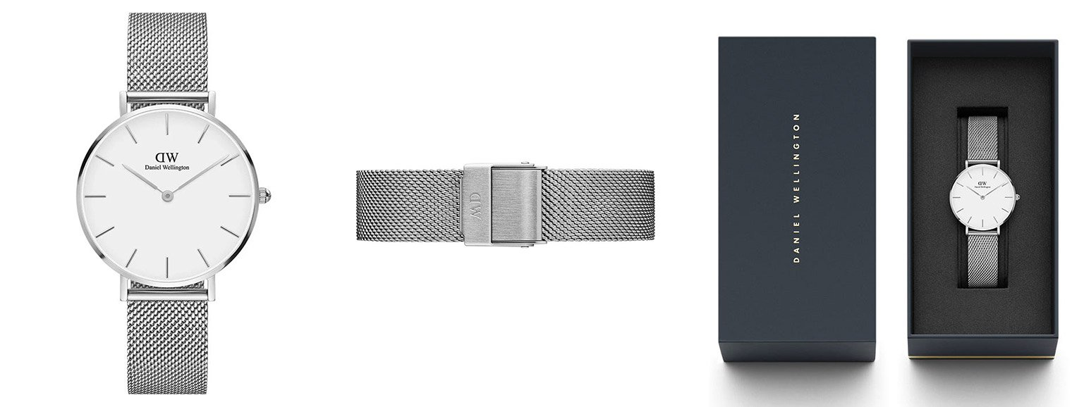 an overview of daniel wellington watch bands: the mesh strap