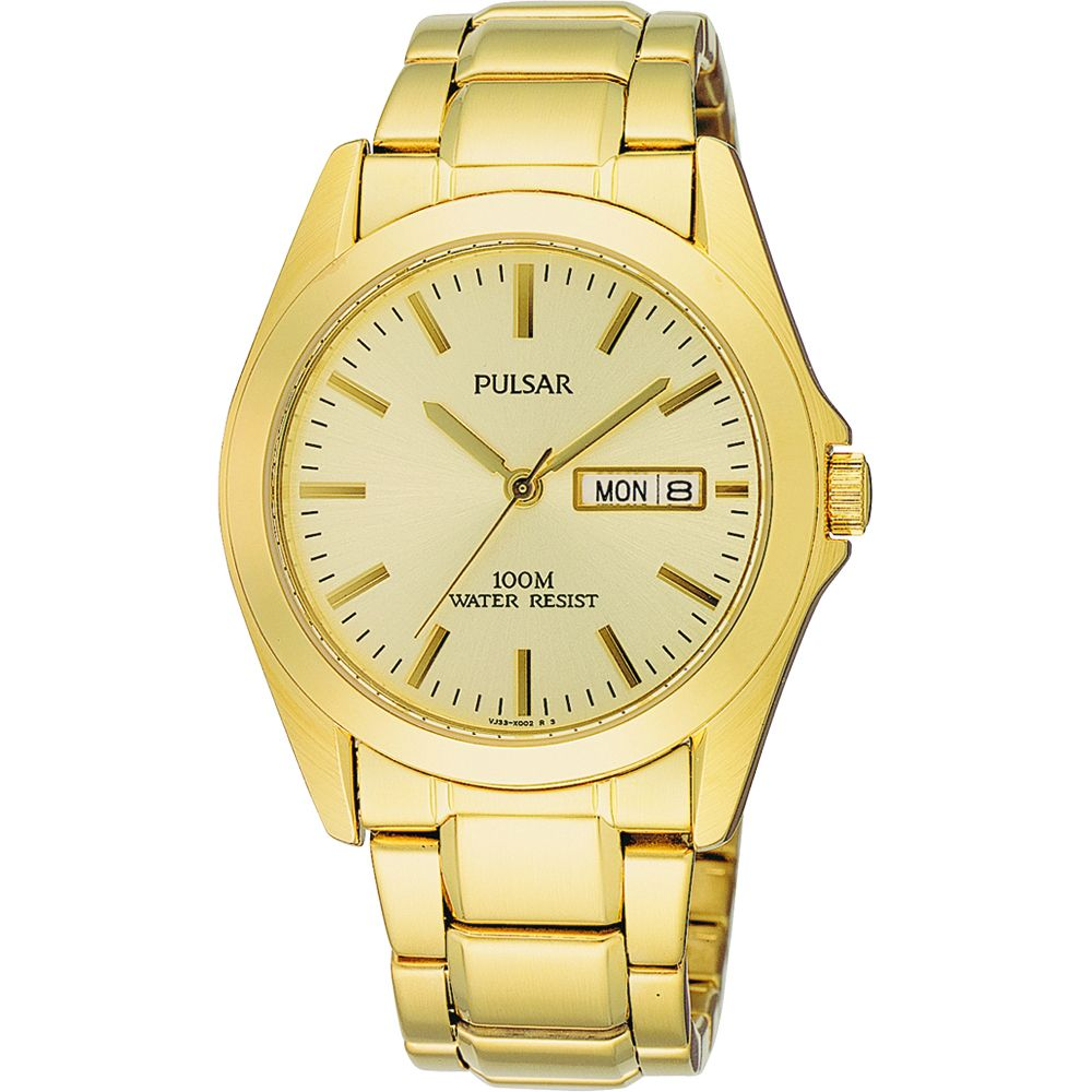 Gold Pulsar Men's watch from the best watches of 2020