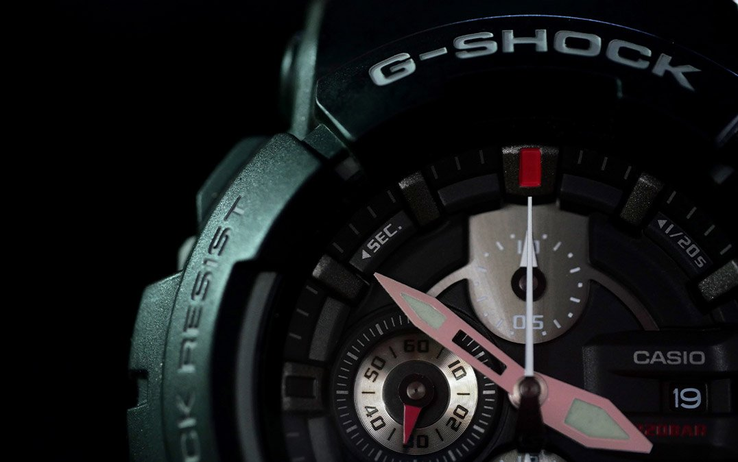 how to change time on g shock watch steps