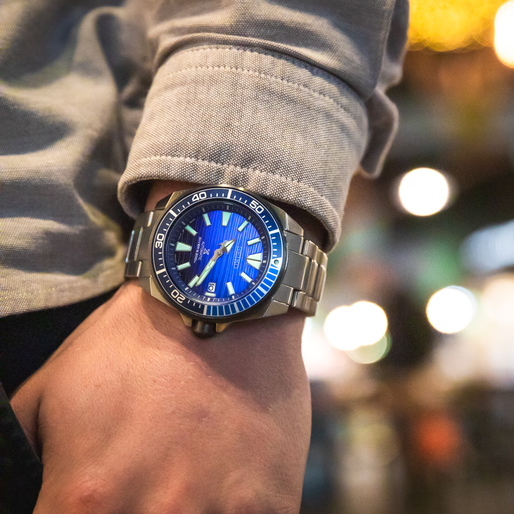 Seiko Prospex SRPC93J Save the Ocean Special Edition 'Samurai' Stainless Steel Divers