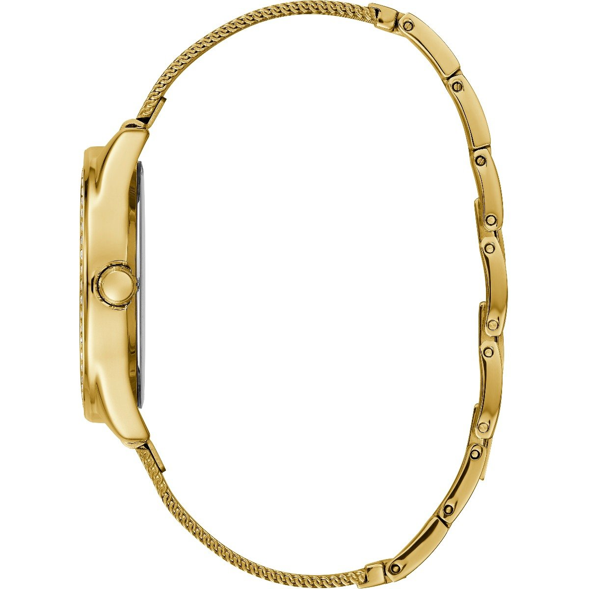 Guess Tri Glitz W1142L2 Gold Stainless Steel Womens Watch
