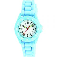 ECC Kids Blue Silicone Strap Watch