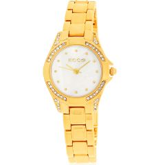 ECC Gold Plated Womens Watch