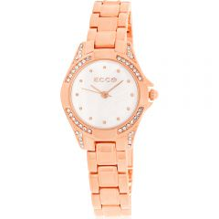 ECC Rose Gold Plated Womens Watch