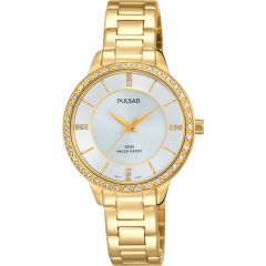 Pulsar PH8218X Stone Set Womens Watch