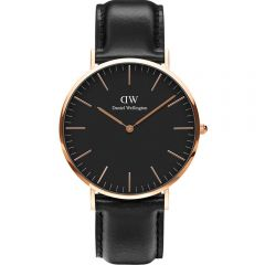 Daniel Wellington DW00100127 Classic Black Sheffield Mens Watch
