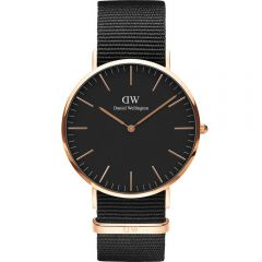 Daniel Wellington DW00100148 Classic Black Cornwall Mens Watch