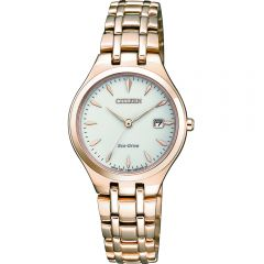 Citizen Eco Drive EW2483-85B Gold Tone Ladies Watch