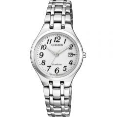 Citizen Eco-Drive EW2480-83A Silver Tone Womens Watch