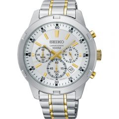 Seiko SKS607P Chronograph Stainless Steel Mens Watch