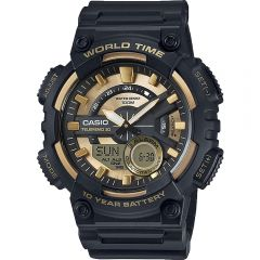 Casio AEQ110BW-9A World Time Mens Watch