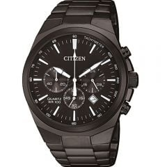 Citizen AN817555E Black Chrono Mens Watch
