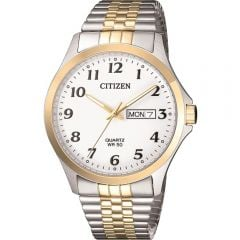Citizen BF500493A Two Tone Expandable Stainless Steel Mens Watch