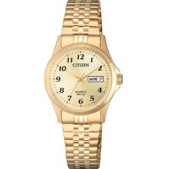 Citizen EQ200291P Gold Ladies Watch