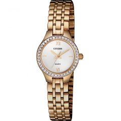 Citizen EJ614359A Rose Swarovski Crystal Ladies Watch