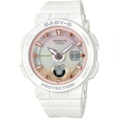 Baby G BGA250-7A2 Pink Beach Theme Ladies Watch