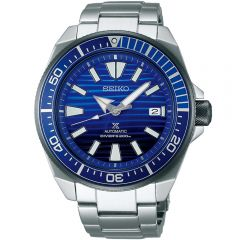 Seiko SRPC93 Save the Ocean Special Edition Samurai Stainless Steel  Mens Divers