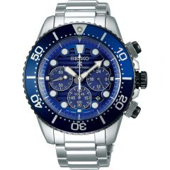 Seiko SSC675P Save The Ocean Special Edition  Mens Chronograph Divers Watch
