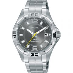 Pulsar PXHA69X Stainless Steel Workmans Watch
