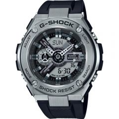 Casio G Steel World Time GST410-1A Mens Watch