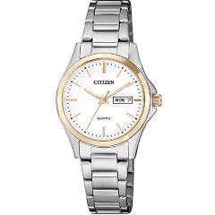 Citizen EQ0596-87A Two Tone Stainless Steel Ladies Watch