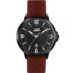 Jag Archie J2181 Brown Leather Mens Watch