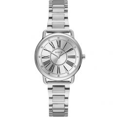 Guess Jackie W1148L1 Silver Stainless Steel Womens Watch