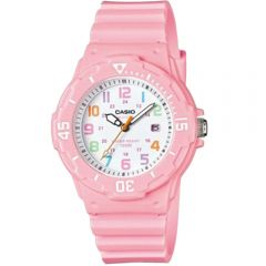 Casio LRW200H-4B2 Pink Resin Watch