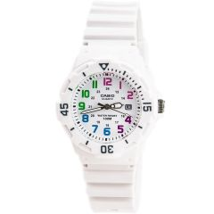 Casio LRW200H-7B White Resin Watch