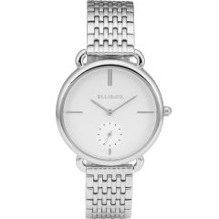 Ellis & Co Collection Stainless Steel Womens Watch