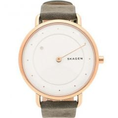 Skagen Horisont SKW2739 Grey Leather Mens Watch