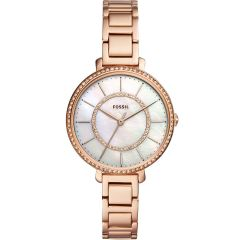 Fossil Jocelyn ES4452 Rose-Coloured Stainless Steel Womens Watch
