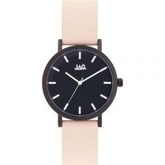 Jag J2249 Natural-Tone Leather Mens Watch