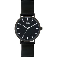 Jag J2250 Black Leather Mens Watch