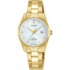 Pulsar PH7476X Gold Stainless Steel Womens Watch