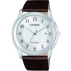 Citizen AW1211-12A Brown Leather Mens Watch