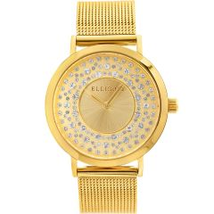 Ellis & Co Kendall Gold Stainless Steel Womens Watch