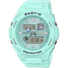 Baby-G G-Lide BAX-100-3ADR Blue Resin Womens Watch