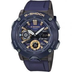 G-Shock GA-2000-2ADR Blue Resin Mens Watch