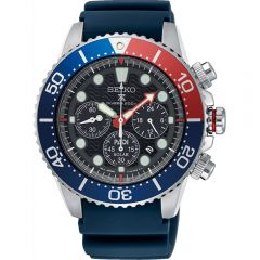Seiko Pepsi Prospex SSC785P Blue Silicone Mens Chronograph Watch