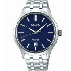 Seiko Presage SRPD41J Silver Stainless Steel Japanese Garden Mens Watch