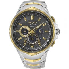 Seiko Coutura SSC752P Two-Tone Stainless Steel Mens Watch