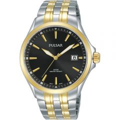 Pulsar PS9632X Two-Tone Stainless Steel Mens Watch