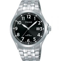 Pulsar PS9631X Silver Stainless Steel Mens Watch