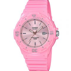 Casio LRW200H-4E4 Pink Resin Youth Watch